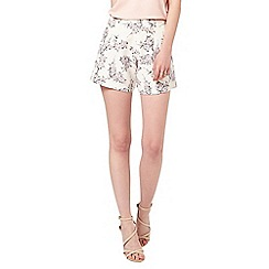 Miss Selfridge - Ditsy floral tailored short