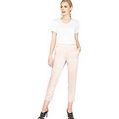 Miss Selfridge - Satin pin tuck trousers
