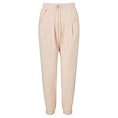 Miss Selfridge - Nude luxe jogger