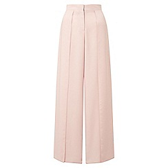 Miss Selfridge - Blush split front trousers