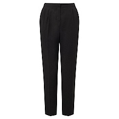 Miss Selfridge - Black peg leg trousers