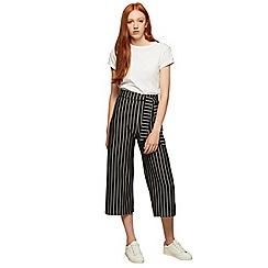 Miss Selfridge - Stripe tie crop trousers