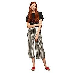 Miss Selfridge - Stripe plisse trousers