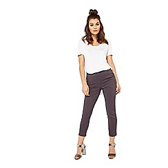 Miss Selfridge - Charcoal cigarette trousers