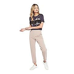 Miss Selfridge - Mink cigarette trousers