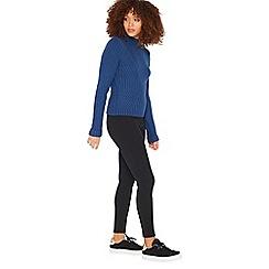 Miss Selfridge - Black ski pant trousers