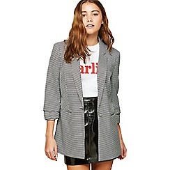 Miss Selfridge - Dogtooth check blazer
