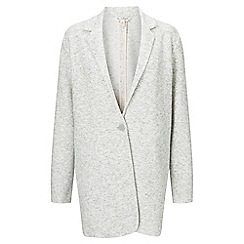 Miss Selfridge - Grey brush duster jacket