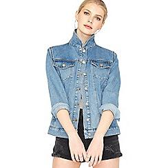 Miss Selfridge - Studded denim jacket