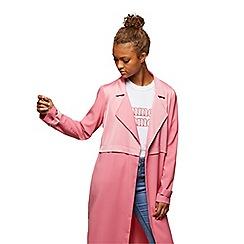Miss Selfridge - Pink matt and shine duster