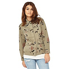 Miss Selfridge - Floral print shacket