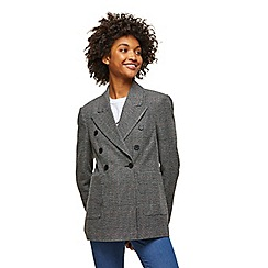 Miss Selfridge - Heritage check blazer