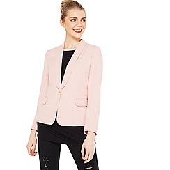 Miss Selfridge - One button blazer