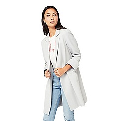 Miss Selfridge - Grey duster coat