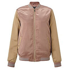Miss Selfridge - Day dreamer bomber jacket