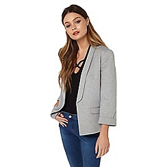 Miss Selfridge - Grey ponte jacket