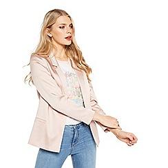 Miss Selfridge - Pink satin blazer