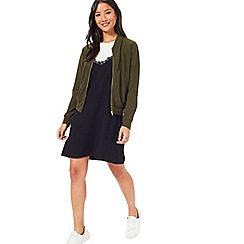 Miss Selfridge - Khk jersey bomber