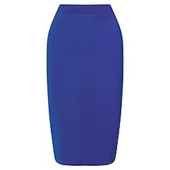 Miss Selfridge - Blue pencil skirt