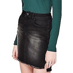 Miss Selfridge - Midi step hem detailing skirt