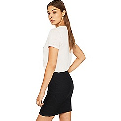 Miss Selfridge - Cross waist bandage skirt