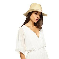 Miss Selfridge - Straw fedora hat