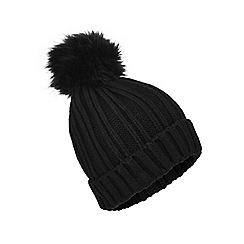 Miss Selfridge - Fur pom hat