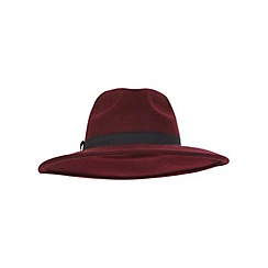 Miss Selfridge - Oxblood fedora