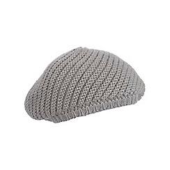 Miss Selfridge - Grey slouchy beanie hat