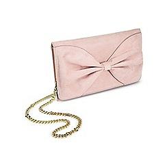 Miss Selfridge - Bow clutch bag