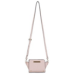 Miss Selfridge - Nude ultra mini cross body