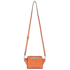 Miss Selfridge - Orange ultra mini cross body