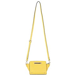 Miss Selfridge - Yellow ultra mini cross body