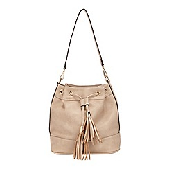 Miss Selfridge - Cashew clean duffel bag