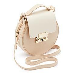 Miss Selfridge - Round mini lock bag