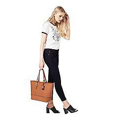 Miss Selfridge - Scratchy faux leather bag