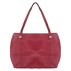 Miss Selfridge - Raspberry slouchy shopper bag