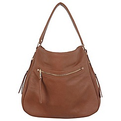 Miss Selfridge - Tan casual hobo bag