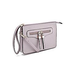 Miss Selfridge - Zip 18hr cross body bag