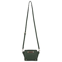 Miss Selfridge - Khaki ultra mini bag