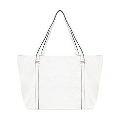 Miss Selfridge - White slouch shopper