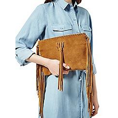 Miss Selfridge - Fringe cross body bag