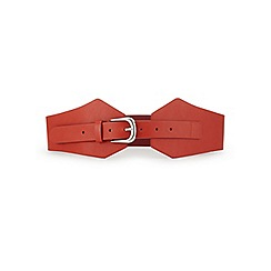 Miss Selfridge - Wide buckle belt