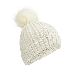 Miss Selfridge - Fur pom hat