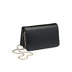 Miss Selfridge - Black mini x body bag