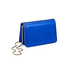 Miss Selfridge - Cobalt mini x body bag