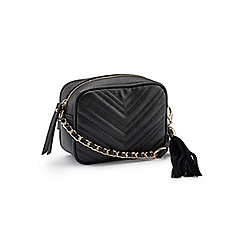 Miss Selfridge - Quilt cross body bag