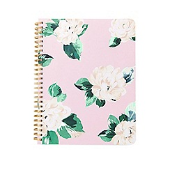 Miss Selfridge - Pink floral notebook