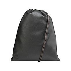 Miss Selfridge - Black drawstring bag