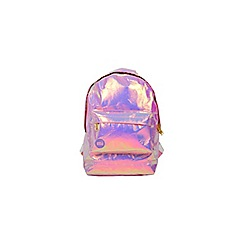 Miss Selfridge - Holgraphic mini backpack